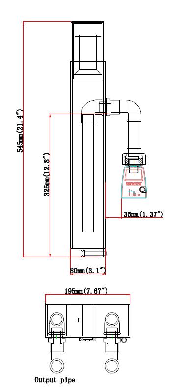 Skimmer Size Classic 100-HOB