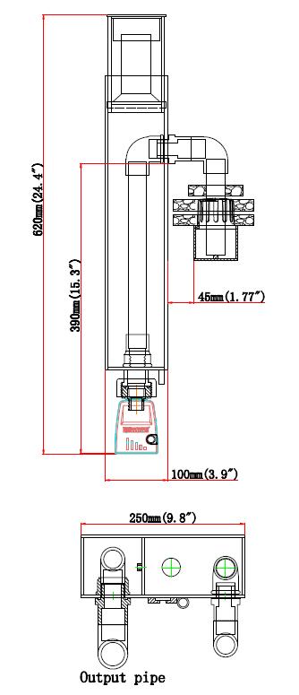 Skimmer Size Classic 2000-HOB