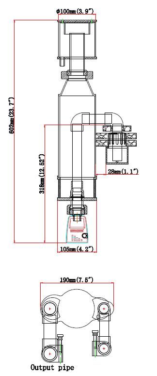 Skimmer Size Classic 90-HOB
