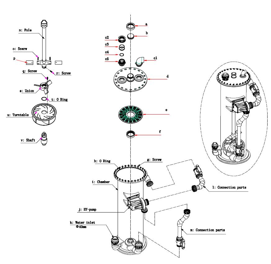 Commercial BioReactor expl BR20-30-45